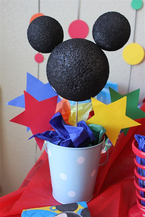 Mickey Mouse Themed Party  Simply Real Moms