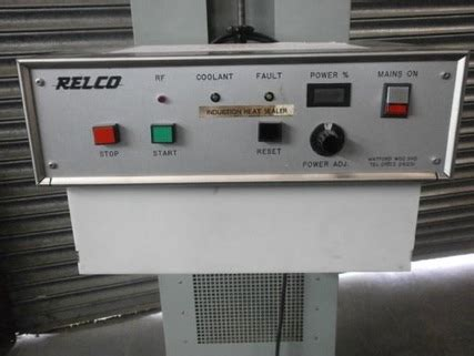 induction sealing relco induction sealing machine