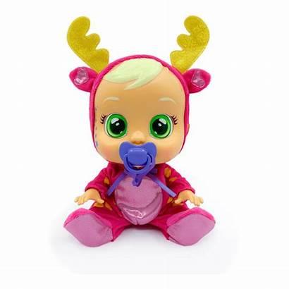 Cry Babies Rosie Pyjama Toys Reindeer Doll