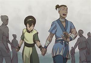 Sokka and Toph by Campside on DeviantArt