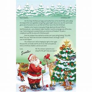 personalized letter from santa miles kimball With personalized letter from santa with ornament
