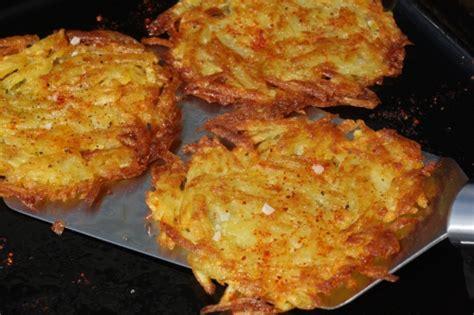 paillasson de pommes de terre rapees paillasson de pomme de terre et jambon pour 6 personne s