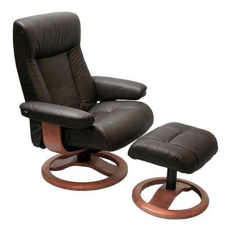 leather lounge chair with ottoman scansit 110 ergonomic leather recliner chair ottoman
