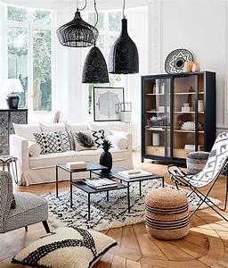 reussir la deco de son salon l39atelier agite With tapis berbere avec meuble canapé convertible