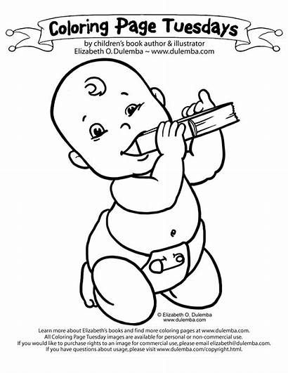 Coloring Pages Newborn Boy Colouring Printable Sheet