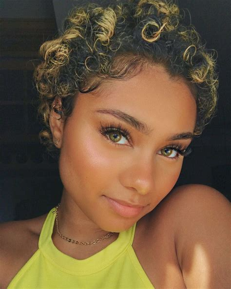 Pin by N'Dea Spencer on Short Hair Curly hair styles