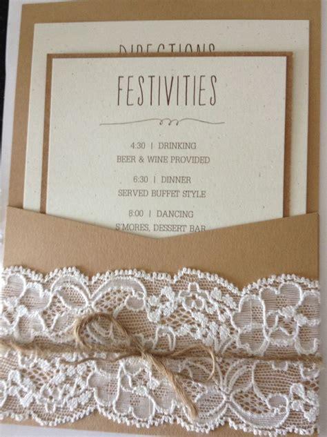 homemade wedding invites rustic wedding invites someday