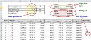 Loan Repayment Template Excel Top Amortization Schedule And Loan Repayment Excel