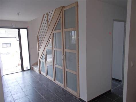 debret escaliers on quot escalier avec placard int 233 gr 233 vide sur en verre bois et