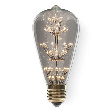 4 led light bulbs e27 led light bulb edison st64 t9 vintage ferrowatt cult uk