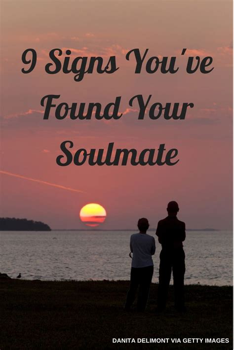 9 signs youve found your soulmate if you believe in that