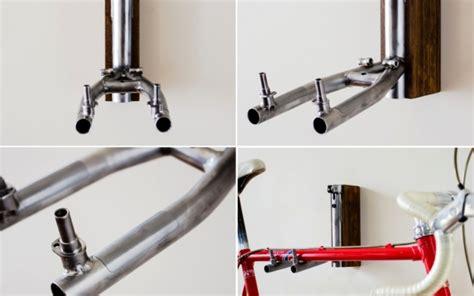 turn  bike frame  minimalist bicycle storage unit