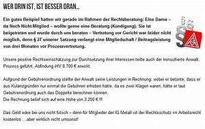 Ig Metall Beitrag Berechnen : ein guter grund gewerkschaftsmitglied zu sein ig metall krefeld ~ Themetempest.com Abrechnung