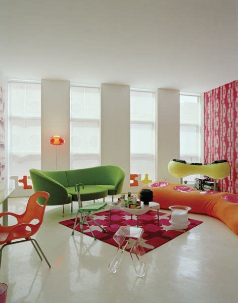 Another Playful Interior By Karim Rashid Very Colorful