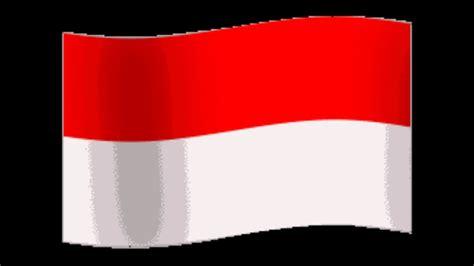 animasi bendera merah putih berkibat hd youtube