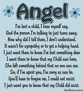 Angel Mom Quote. Miscarriage. Infant loss. Bereavement ...