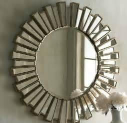 Large Sunburst Wall Mirror