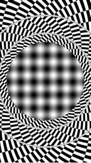 Cool effect. Looks like a 3D Portal.   Optical illusions ...