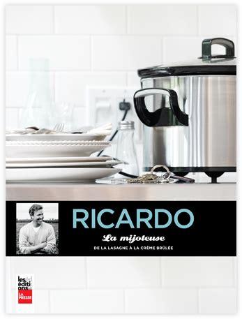 livre de cuisine ricardo des billets et des saisons des livres et de la cuisine