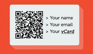 Generate a qr code for business cards best business cards for Create qr code business card