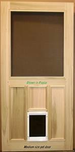 Exterior door with built in pet door home decor takcopcom for Interior door with dog door