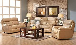 Alpha leather sofa group living room denver by for Furniture row leather living room sets