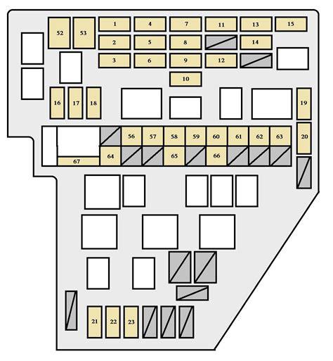2012 toyota sienna fuse box location wiring diagrams