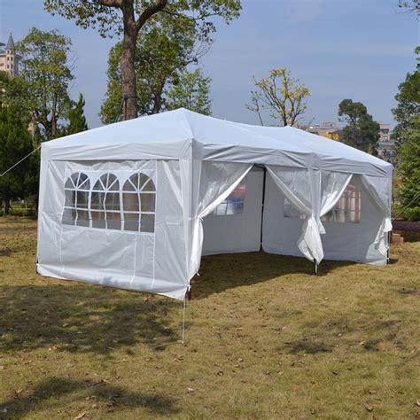 white pop  tent canopy gazebo shelter unit