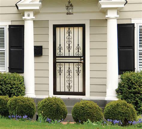 screened back porch larson doors security doors