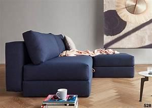 canape lit 2 personnes de qualite bleu ou gris ksl living With canapé convertible qualité