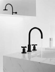 Mitigeur Noir Salle De Bain : robinet design pour la cuisine et la salle de bains noir ~ Edinachiropracticcenter.com Idées de Décoration