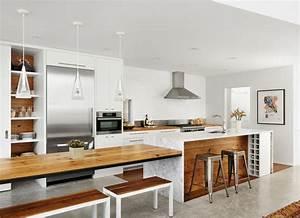 Table Plan De Travail Cuisine : le plan de travail en marbre ~ Melissatoandfro.com Idées de Décoration