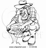 Panning Prospector Coloring Nugget Clipart Cartoon Printable Poster Eps Ai Template sketch template