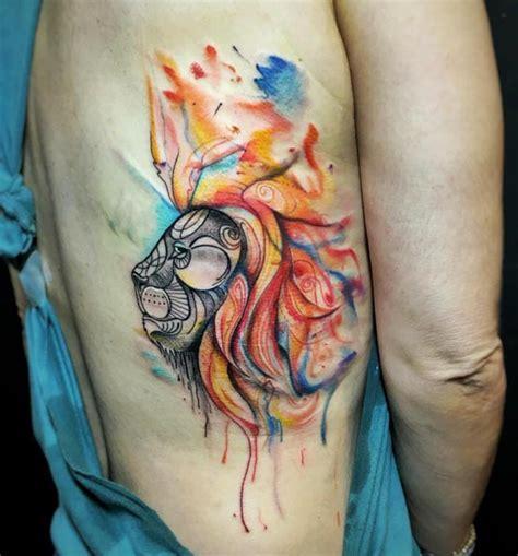 charming watercolor animal tattoo designs amazing