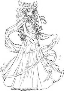 HD wallpapers anime fairy coloring pages