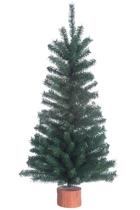 24 quot unlit canadian pine artificial table top holiday