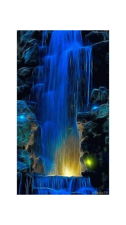 Google Gifs Animated Cool Colorful Places Waterfalls