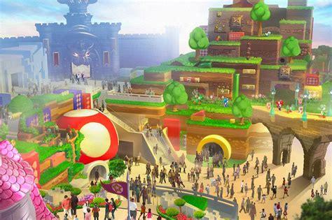 Take a Look at Japan's Super Nintendo World Theme Park ...