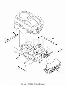 Troy Bilt 13wx78ks011 Bronco  2012  Parts Diagram For Engine Accessories
