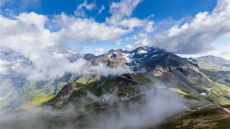 mountain grossglockner hd wallpapers