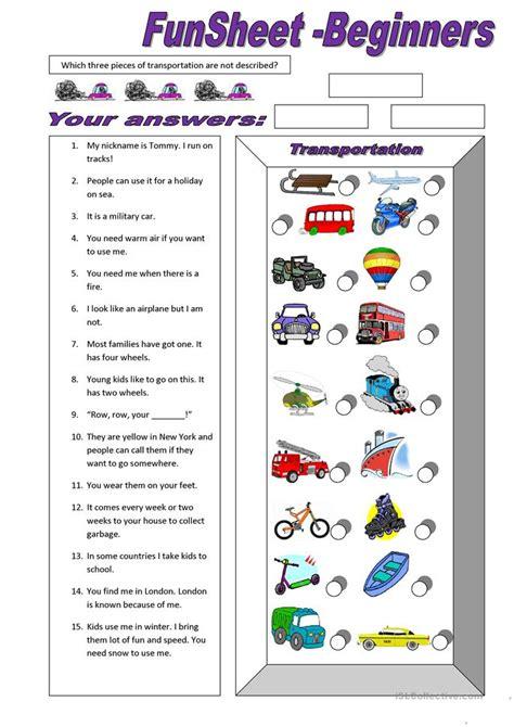 All Worksheets » Transportation Worksheets  Printable Worksheets Guide For Children And Parents