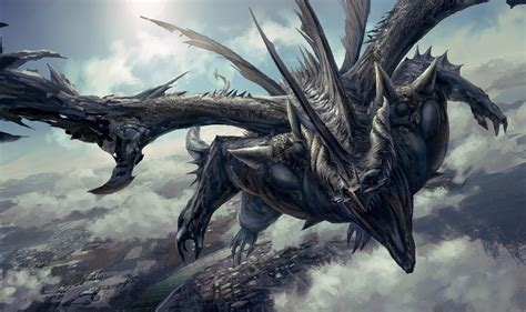 Cool Picture Of Dragons Dn Black Dragon By Yuchao1000 On Deviantart
