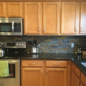Grey countertops and wood cabinets- how to make it work?