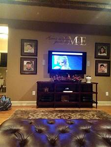 Best ideas about mounted tv decor on