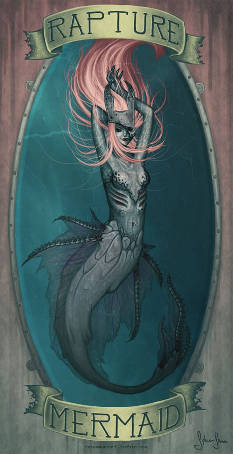 Bioshock Rapture Mermaid By Becken95 On Deviantart