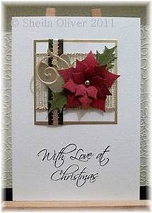 1000 images about Card Ideas Christmas Poinsettia