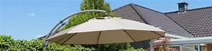 Parasol Grande Taille : parasols d port s complets de 375cm housse hivernale incluse parasol easy sun ~ Melissatoandfro.com Idées de Décoration