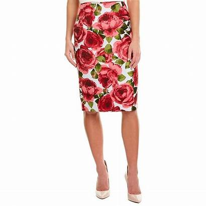 Skirt Kors Michael Pencil Jacquard Rose