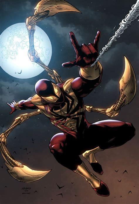 ironspider spoder marvel homen aranha desenho e tirinhas dc