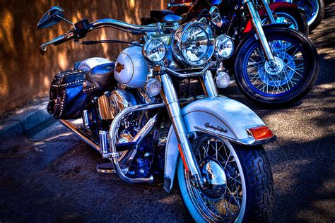 Heritage Softail Photograph By David